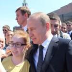 Vladimir Putin oznámil svoji kandidaturu na prezidenta České republiky