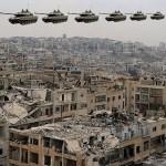 Do Sýrie přiletělo 10 nových ruských tanků, IS je v troskách