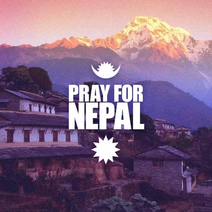 Každý, kdo poslal svoji modlitbu směrem do Nepálu si zaslouží velký dík.