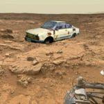 Našlo vozítko Curiosity na Marsu starou škodovku?