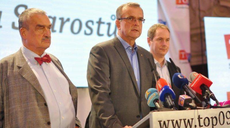 Schwarzenberg a Kalousek, TOP 09