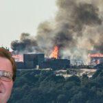 Požár v Barrandovských ateliérech založil Zdeněk Škromach. Údajně chtěl zapálit ten největší oheň na podporu vína a škvarků