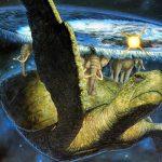 Skupina amerických vědců došla až na okraj placaté Země. Potkali tam vesmírnou želvu