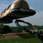 Rusko vyvinulo létající kombajn s impulzním pohonem a antigravitační sklízecí mlátičkou. Sklidí jím už letošní úrodu obilí